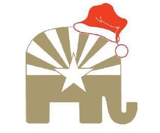 Azgop christmas logo